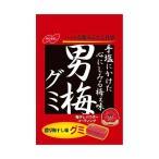 送料無料 ノーベル製菓 男梅グミ 38g×6個入