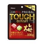 送料無料 【2ケースセット】カバヤ タフグミ梅 100g×6袋入×(2ケース)