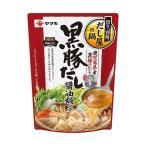 送料無料 【2ケースセット】ヤマキ 黒豚だし 醤油鍋つゆ 700g×12袋入×(2ケース)