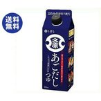 送料無料 【2ケースセット】久原醤油 あごだしつゆ 500ml×12本入×(2ケース)