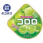 【全国送料無料】【ネコポス】UHA味覚糖 コロロ マスカット 48g×6袋入