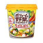 送料無料 【2ケースセット】アサヒグループ食品 おどろき野菜 ボリューム野菜のはるさめスープ ちゃんぽん 35.5g×6個入×(2ケース)