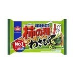 送料無料 亀田製菓 亀田の柿の種 わさび 6袋詰 182g袋×12袋入