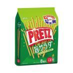 送料無料 【2ケースセット】グリコ PRETZ(プリッツ)旨サラダ 9袋×6袋入×(2ケース)