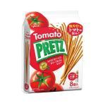 送料無料 グリコ PRETZ(プリッツ)熟トマト 9袋×6袋入