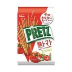 送料無料 【2ケースセット】グリコ PRETZ(プリッツ)熟トマト 9袋×6袋入×(2ケース)