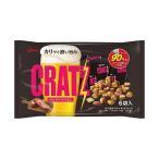 送料無料 【2ケースセット】グリコ クラッツ ペッパーベーコン 102g×8袋入×(2ケース)