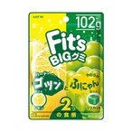【送料無料】ロッテ Fit's グミ ゴツンとふにゃん レモン&マスカット 102g×10個入