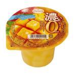 【送料無料】たらみ 濃いゼロカロリー 濃いマンゴーゼリー0kcal 195g×24(6×4)個入