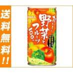 【送料無料】サンガリア  ベジライフ野菜とフルーツ 190g缶×30本入