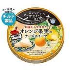 【送料無料】【2ケースセット】【チルド(冷蔵)商品】雪印メグミルク Cheese sweets Journey オレンジ果実のチーズスイーツ 108g(6個入り)×12個入×(2ケース)