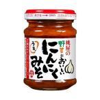 送料無料 【2ケースセット】桃屋 野菜に美味しいにんにくみそ 105g瓶×12本入×(2ケース)