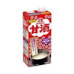 【送料無料】【2ケースセット】森永製菓 甘酒 1000ml紙パック×12(6×2)本入×(2ケース)