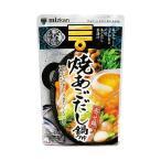 送料無料 【2ケースセット】ミツカン 焼あごだし鍋つゆ ストレ−ト 750g×12袋入×(2ケース)