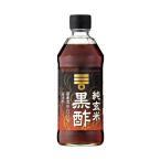 送料無料 ミツカン 純玄米黒酢 500ml瓶×6本入