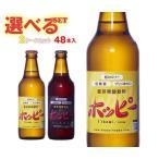 【送料無料】ホッピービバレッジ ホッピー330・ホッピーブラック 選べる2ケースセット 330ml瓶×48(24×2)本入