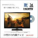 ショッピング液晶テレビ DVDプレーヤー内蔵・19V型地上デジタルLED液晶テレビ(WS-TV1955DVB)
