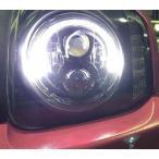 予約受付中!!送料無料ジムニー ダブルLED プロジェクターヘッドライト(LEDリング&LEDウインカー) JB23用