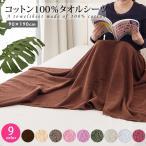 タオルシーツ ( コットン100% ) 1920匁 90×190cm 全9色 「 ベッドカバー ベッドシーツ 」◆