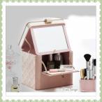【送料無料】M_20 メイクボックス、化粧箱、鏡台、マスカラ、ビューラー、PB