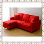 【送料無料】SY12 3人掛けコーナーソファー、カウチソファ、ポケットコイルR