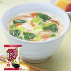 アマノフーズ フリーズドライ にゅうめん 五種の野菜 あっさり味噌味 4食入 203206