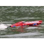 【ラジコン レーシング ボート】ほぼ完成キット ブラシレスモーター、サーボ組込み済みMarine Relentless V2 730mm