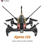 【ラジコン ヘリコプター】WALKERA ワルケラ /Rodeo 150 黒 クアッドコプター (DEVO用)機体のみ(カメラ、バッテリー、日本語マニュアル)充電器は別売