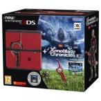 New Nintendo 3DS 欧州版 黒 本体 + Xenoblade Chronicles 3D プレインストール 海外版 日本版ソフト動作不可