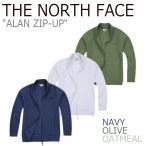 ノースフェイス アウター THE NORTH FACE メンズ ALAN ZIP-UP アラン ジップアップ OATMEAL OLIVE NAVY オートミール オリーブ ネイビー NJ5JJ07 ウェア