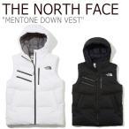 ノースフェイス ダウン THE NORTH FACE メンズ レディース MENTONE DOWN VEST メントーン ダウンベスト BLACK ブラック WHITE ホワイト NV1DK51J/K ウェア