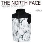 ショッピングアウター ノースフェイス アウター THE NORTH FACE メンズ MEN'S SKI DOWN VEST スキー ダウンベスト Gray グレー NN1DI56C ウェア