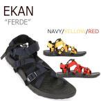 ショッピングストラップ エカン サンダル ストラップサンダル スポサン EKAN メンズ レディース FERDE フェルデ 3色 EKAN-1401 シューズ