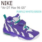 NIKE Air DT Max 96 GS Purple Venom White Turbo Green ナイキ エアーDTマックス 616502-501 スニーカー シューズ