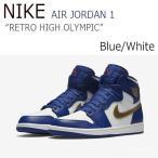 ショッピングNIKE NIKE Air Jordan 1 Retro High Blue White 332550-406 705300-406 ナイキ ジョーダン スニーカー シューズ