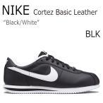 ショッピングNIKE NIKE Cortez Basic Leather BLACK WHITE ナイキ コルテッツ 316418-012 シューズ スニーカー シューズ