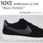 ショッピングNIKE NIKE Roshe LD-1000 Black Metallic スエード ブラック 819843-002 レディース シューズ スニーカー シューズ