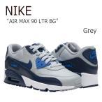 ショッピングNIKE NIKE AIR MAX 90 LTR BG Grey ナイキ エアマックス レディース 833412-009 シューズ スニーカー シューズ