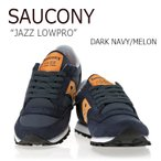 Saucony JAZZ LOWPRO DARK NAVY MELON サッカニー ジャズ ロープロ S1866-198 スニーカー シューズ
