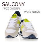Saucony JAZZ ORIGINAL WHITE YELLOW サッカニー ジャズ S1044-365 スニーカー シューズ