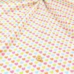 ≪会員5%引≫ヒヨコハート≪お買い得商品≫ ダブルガーゼ生地 ( 赤ちゃん ワンピース パジャマ おくるみ ハンカチ マスク  ) 50cm単位