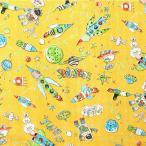 PLANETS ダブルガーゼ生地( ワンピース パジャマ ハンカチ マスク ベビー Wガーゼ  )  50cm単位