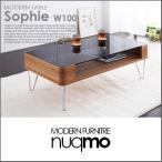 北欧 ミッドセンチュリー カフェ テーブル 曲げ木ガラステーブル Sophie ソフィー W100