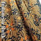 バティック−028 インドネシアのろうけつ染め アジアン雑貨 布
