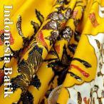 バティック−040 インドネシアのろうけつ染め アジアン雑貨 布 マルチカバー タペストリー 生地