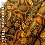 バティック−047 インドネシアのろうけつ染め アジアン雑貨 布