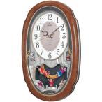 セイコー SEIKO からくり時計・メロディ 掛け時計 壁掛け AM213H ウエーブシンフォニー 電波時計