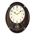 セイコー SEIKO からくり時計・メロディ 掛け時計 壁掛け AM248B ウエーブシンフォニー 電波時計