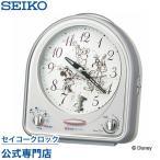 セイコー SEIKO 目覚し時計 置時計 FD464S ディズニー ミッキー&フレンズ スイープ ライト付 31曲メロディアラーム 音量調節