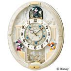 セイコー SEIKO 掛け時計 FW574W ディズニー ミッキー ミニー ミッキー&フレンズ 電波時計 からくり メロディ